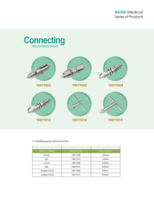 Connecting attachments series