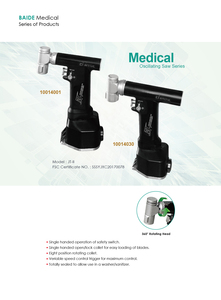 Medical oscillating saw series